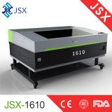 Máquina de acero 1610 del metal del corte del laser del CNC de Jsx/laser de acrílico que talla la máquina