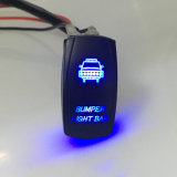 Caminhão de barco de carro LED Rocker Toggle Switch com Spot Light