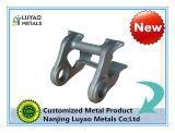 Bastidor de aluminio/pieza de acero fundido inoxidable