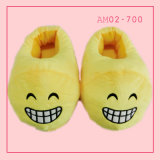 2017 Ladies Animal Emoji Indoor Popular Yellow Slippers