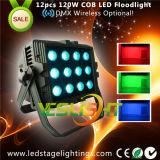 セリウム、RoHSとの200W穂軸屋外LEDのフラッドライト12PCS*15W RGB