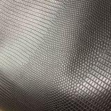 Cuir synthétique d'unité centrale des graines de lézard pour des sacs de chaussures faisant Hx-S1741
