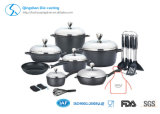 Ensemble de cuisson pour table de cuisson en aluminium non-collant en aluminium