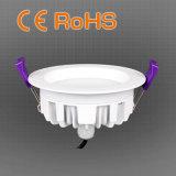 o diodo emissor de luz 13W para baixo claro Waterproof para a aplicação do banheiro do Washroom