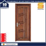 Porte en bois de panneau en verre en bois intérieur solide de bonne qualité
