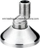 Accessori per tubi d'ottone del gomito di alta qualità con nichel
