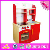 2016 neue Entwurfs-Kind-hölzernes modernes Küche-Spielzeug W10c005