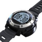 Reloj elegante del deporte para Biking, ejecutarse y recorrer con temperatura