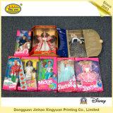 De kleurrijke Verpakkende Doos van het Stuk speelgoed voor Doll van Barbie