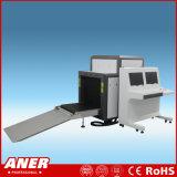 La ISO aprueba la talla 800X650m m del túnel que el explorador del detector del bagaje de la radiografía de la máquina del control de seguridad del ferrocarril tiene visualización dos