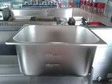 Friggitrice profonda del gas dell'acciaio inossidabile della strumentazione della cucina di alta qualità