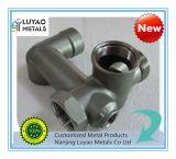Edelstahl-/Aluminium-Investitions-Gussteil und CNC maschinelle Bearbeitung