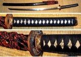 Tiger-Drache Katana mit T10 gefaltetem Stahl