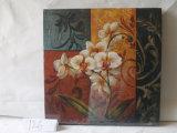 Modelo de la flor de mariposa decorativo del hogar lienzo cuadro colgado
