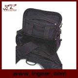 I militari di nylon del sacchetto di spalla dell'attrezzo tattico combattono il sacchetto nero