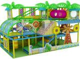 遊園地装置の高品質の森林テーマの屋内子供の運動場セット