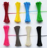 Selbstsichernde Kabelbinder-/Reißverschluss-Gleichheit/selbstsichernder sortierter Nylonreißverschluss-Draht Binden-Wickeln ein
