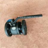 150lb 300lb forjou a válvula de esfera de aço da extremidade da conexão da flange A105