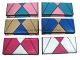 Patchwork-Effekt, Form-Entwurfs-Dame Wallet, Kontrast-Farbe