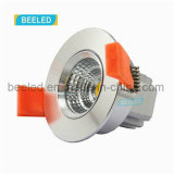 3W proyecto blanco fresco ahuecado Dimmable especular LED comercial Downlight