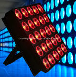 25X9w Tri Color LED Matrix Light, Blinder Audiencia Luz de escenario
