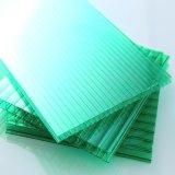Feuille 100% jumelle de polycarbonate de mur de Bayer de Vierge de Lexan de matériaux de construction