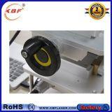 máquina portable de la etiqueta de plástico del laser de la fibra 20With30With50W para los vidrios/acrílico/Pes/PVC/Titanium