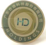 Pin отворотом офсетной печати алюминиевый с эпоксидной смолой