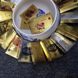 Folien-Europlastikspielkarten des Gold24k