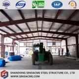 Construction en acier de construction pour l'ensemble industriel