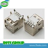 마이크로 USB 남성 PCB 연결관 USB 방수 연결관 Fbusba2-115b