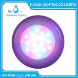 Luz subaquática da piscina do diodo emissor de luz do RGB 316ss 54wtt do poder superior
