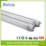 Aluminium+PC 높은 루멘 1.2m T8 LED 관 빛 세륨 RoHS