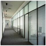 Paredes de divisórias de vidro de alumínio para o hotel do escritório