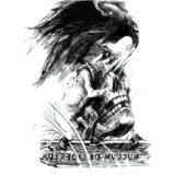 Tatuaje temporal impermeable esquelético de la carrocería de la etiqueta engomada del tatuaje del águila