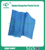 La toalla antirresbaladiza de la estera de la yoga se divierte la toalla de limpieza de Microfiber