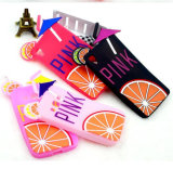 Lemon Juice Fashion Silicone Rubberized Phone Case