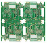 1.0mm 8L Multilayer para o computador MEADOS DE parte a placa do PWB