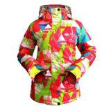 방풍 온난한 스키복을 입는 Wonem 스키 재킷 옥외 스키