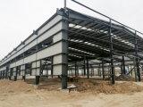 Construcción de acero prefabricada para el almacén del taller
