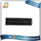 10-45W tout dans les réverbères un solaires de DEL