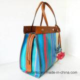 Elegante Handtaschen-Form-Frauen-Einkaufstasche der Dame-PU (NMDK-032206)