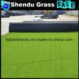 人工的な草ヤーンを持つ120stitch/Mの景色の草