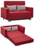 愛シートのためのベッド付きの柔らかいシートのソファー