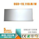 Ugr<19, 600*1200mm, 60W LED Instrumententafel-Leuchte