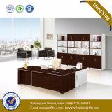 中国のL形の実験室の木のオフィス用家具(HX-GD009c)
