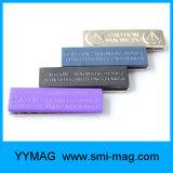 Emblema conhecido magnético plástico reusável