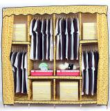 De moderne Garderobe van de Stof van het Meubilair van de Slaapkamer Eenvoudige aan Opslag