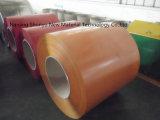 Coi de acero galvanizado prepintado l color cubrió precio primero de las bobinas de acero