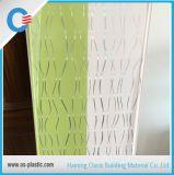 Panneaux de estampage chauds de PVC de modèle d'étincelle pour le panneau de mur plat de PVC de plafond